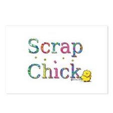Scrap Chick Postcards (Package of 8)