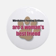 Wirehaired Pointing Griffons woman's best friend O