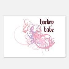 Hockey Babe Postcards (Package of 8)