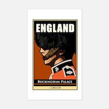 England Rectangle Decal