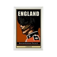 England Rectangle Magnet