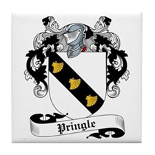 Pringle Family Crest Tile Coaster