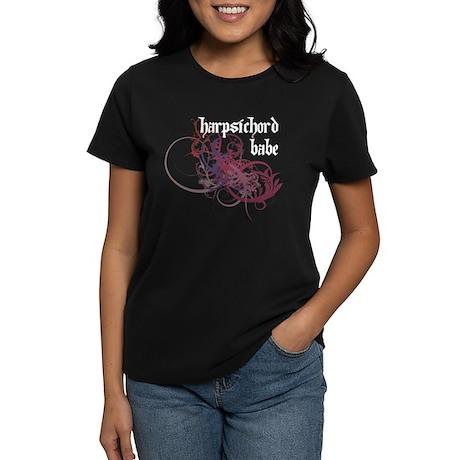 Harpsichord Babe Women's Dark T-Shirt