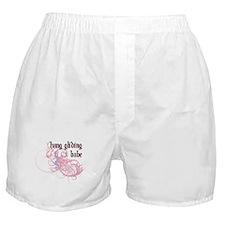 Hang Gliding Babe Boxer Shorts