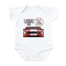 I Can't Drive 55 Infant Bodysuit