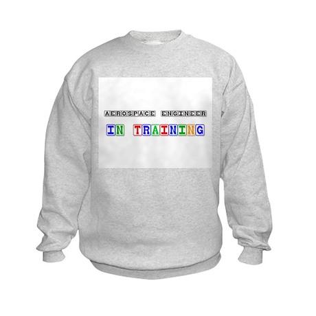Aerospace Engineer In Training Kids Sweatshirt