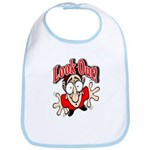 Look Out Kids clothes Bib