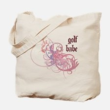 Golf Babe Tote Bag