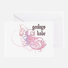 Geology Babe Greeting Card