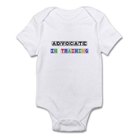Advocate In Training Infant Bodysuit