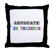 Advocate In Training Throw Pillow