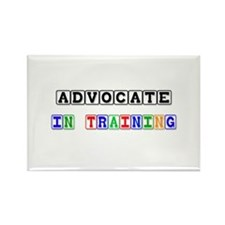 Advocate In Training Rectangle Magnet
