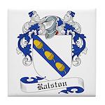 Ralston Family Crest Tile Coaster