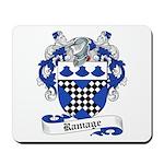 Ramage Family Crest Mousepad