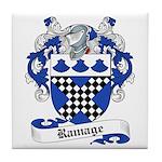 Ramage Family Crest Tile Coaster