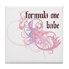 Formula One Babe Tile Coaster