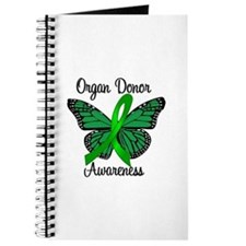 I Wear Green Gift of Life Journal