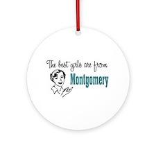Best Girls Montgomery Keepsake (Round)