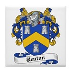 Renton Family Crest Tile Coaster