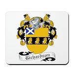 Richardson Family Crest Mousepad