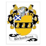 Richardson Family Crest Small Poster
