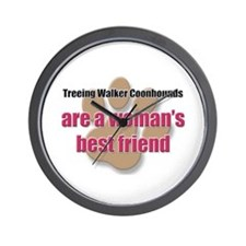 Treeing Walker Coonhounds woman's best friend Wall