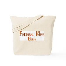 Federal Way Geek Tote Bag