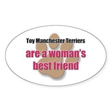 Toy Manchester Terriers woman's best friend Sticke