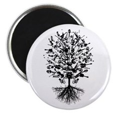"""Musical Instruments Tree 2.25"""" Magnet (100 pack)"""