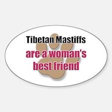Tibetan Mastiffs woman's best friend Decal