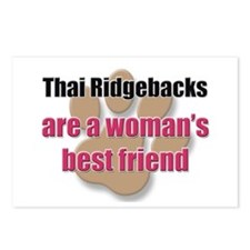 Thai Ridgebacks woman's best friend Postcards (Pac