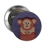 Stitched Monkey Button