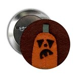 Stitched Jack O'Lantern Button