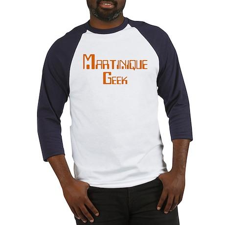 Martinique Geek Baseball Jersey