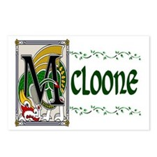 McLoone Celtic Dragon Postcards (Package of 8)