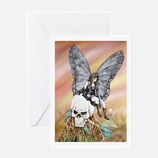 Cute Amy brown fairy Greeting Card