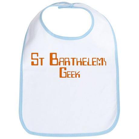 St Barthelemy Geek Bib