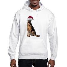 Santa German Shepherd Hoodie