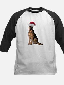 Santa German Shepherd Tee