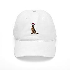 Santa German Shepherd Baseball Cap