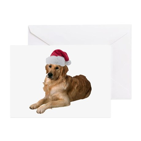 Golden Retriever Christmas Greeting Cards, Thank You Cards, and ...