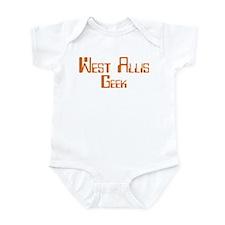 West Allis Geek Infant Bodysuit