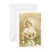 Young Beauty Greeting Cards (Pk of 20)