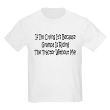 Ride My Grampas Tractor T-Shirt
