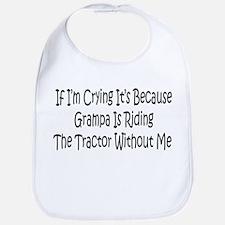 Ride My Grampas Tractor Bib