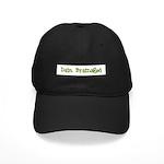 Dain Bramaged Black Cap
