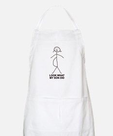 Look what my son did BBQ Apron