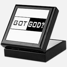 Got God Prayer Keepsake Box