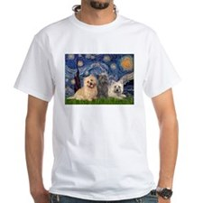 Starry/3 Cairn Terriers Shirt