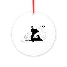 Surfing Keepsake (Round)